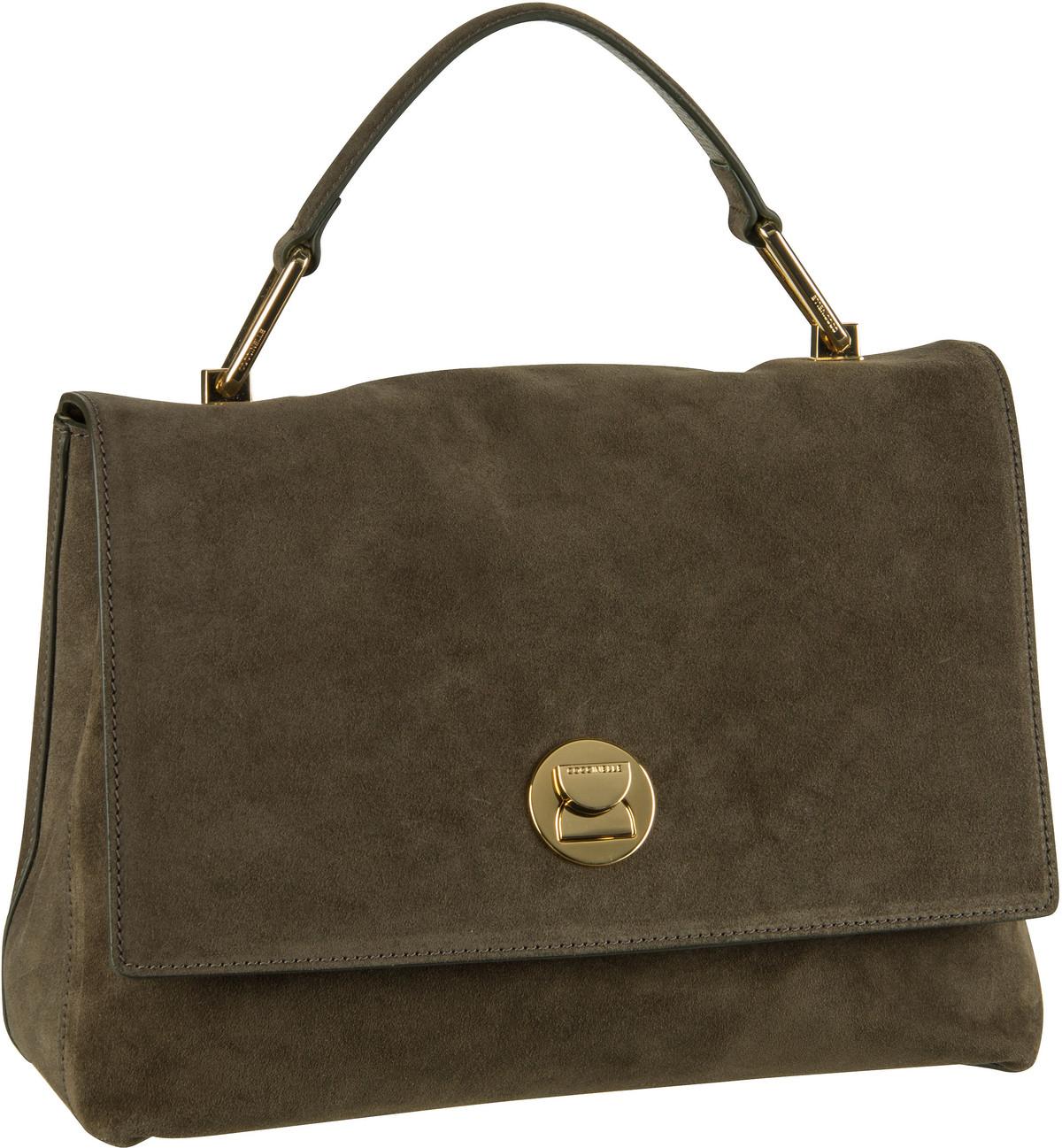 Handtasche Liya Suede 1801 Evergreen