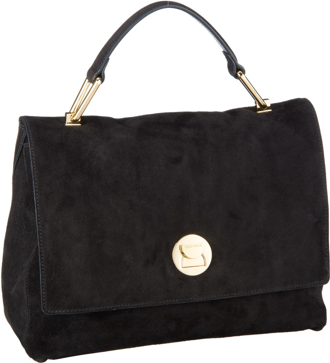 Handtasche Liya Suede 1801 Noir