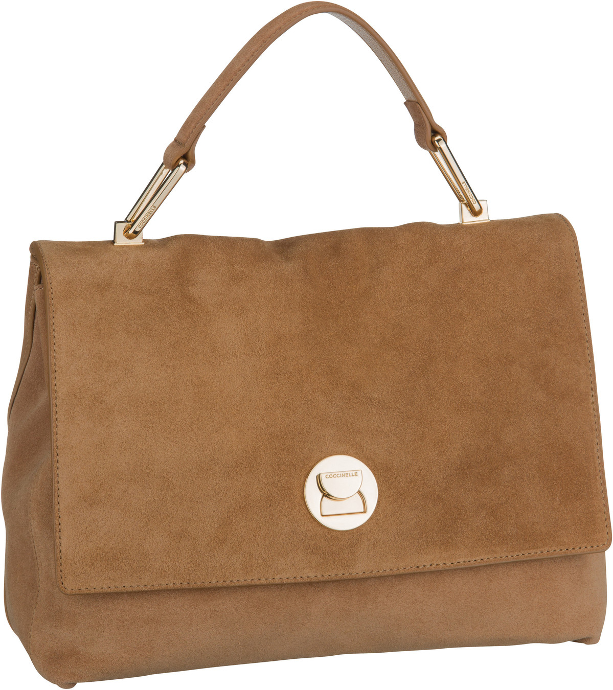 Handtasche Liya Suede 1801 Camel