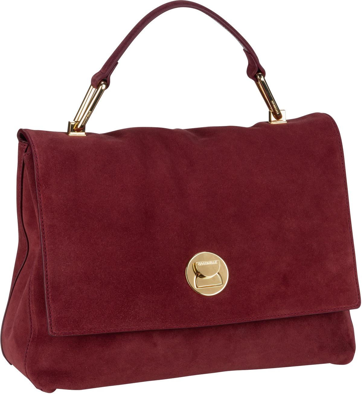 Handtasche Liya Suede 1801 Marsala