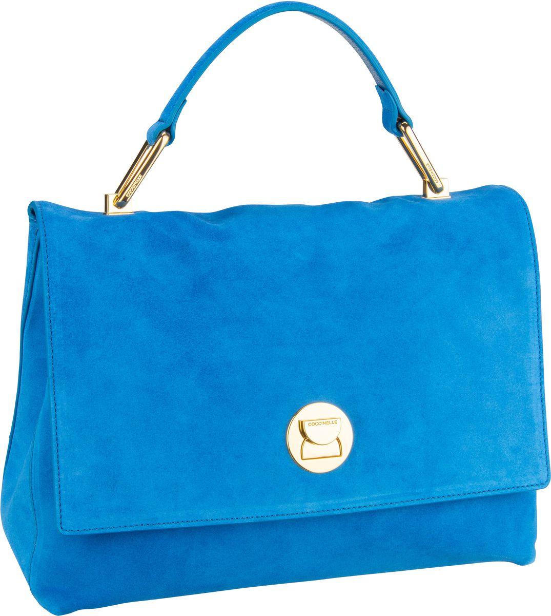 Handtasche Liya Suede 1801 Signal Blue