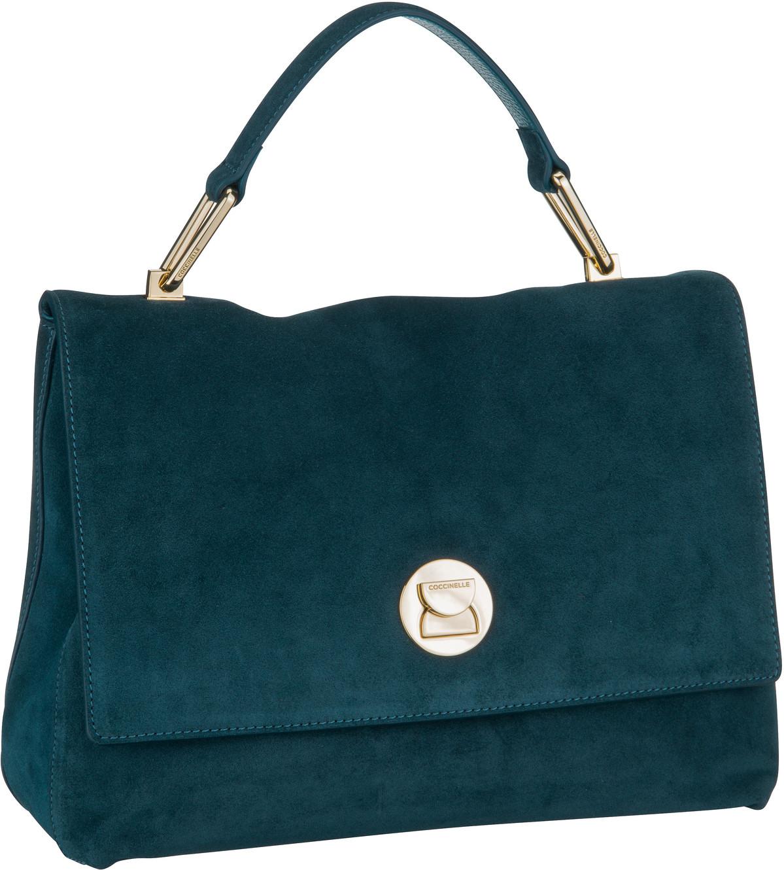 Handtasche Liya Suede 1801 Teal