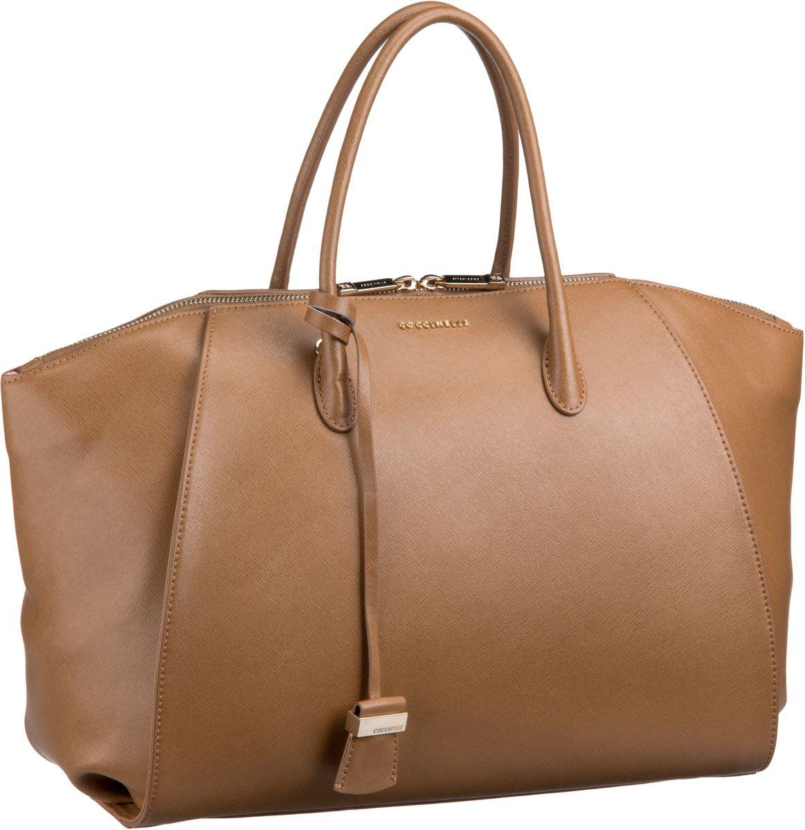 Lou 1801 Cuoio (innen: Rosa) Handtasche