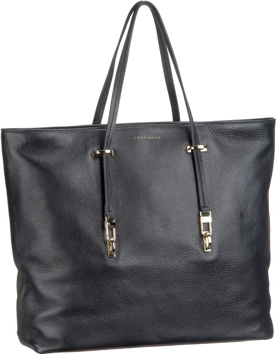 Iggy 1101 Nero (innen: Orange) Handtasche