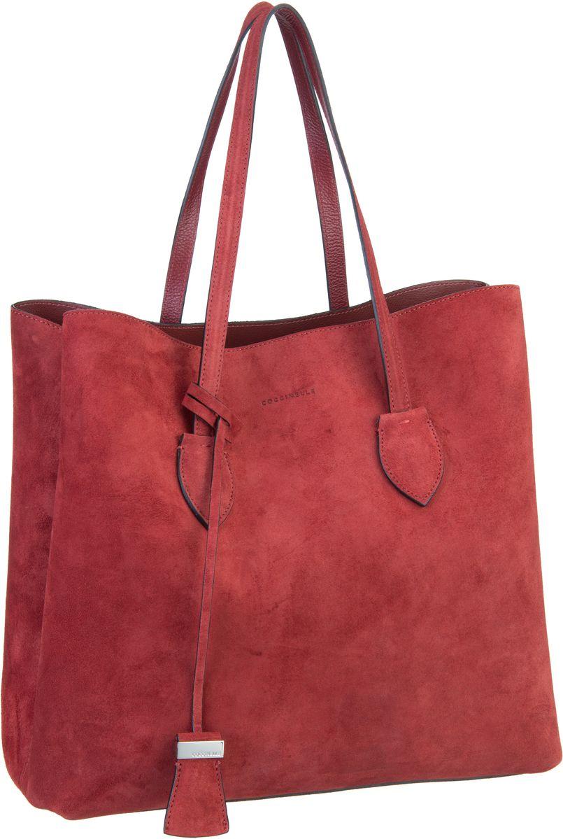 Handtasche Celene Suede 1101 Bourgogne