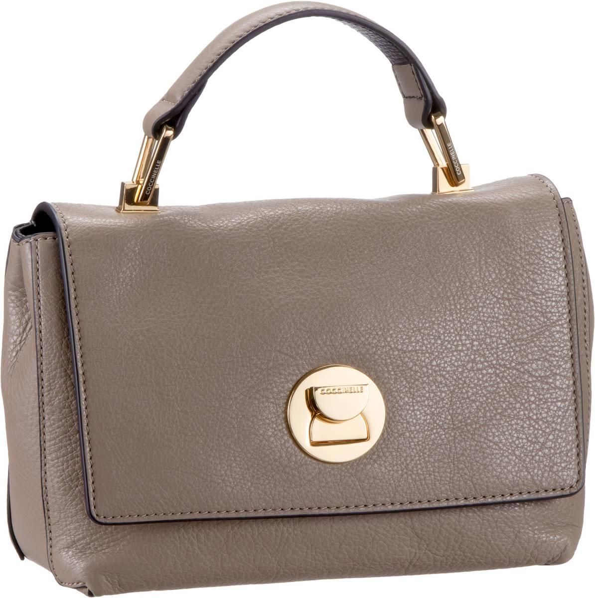 Handtasche Liya 5840 Taupe/Nero