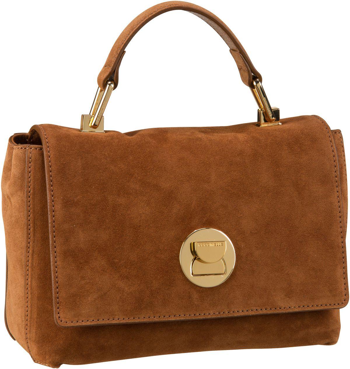 Handtasche Liya Suede 5840 Caramel