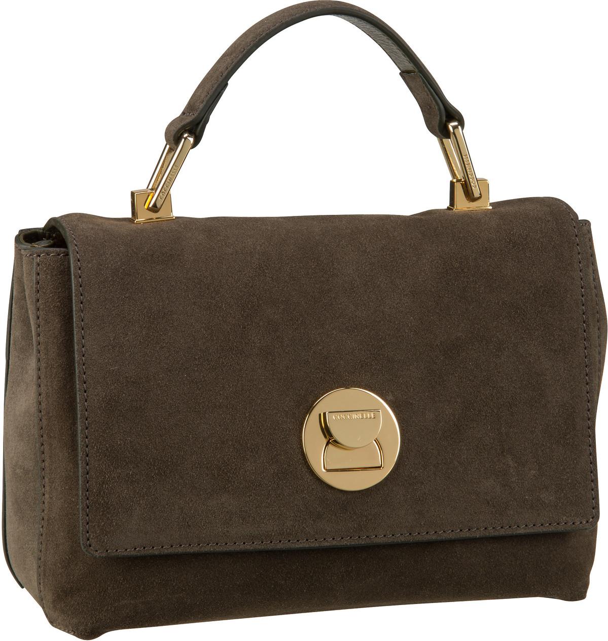 Handtasche Liya Suede 5840 Evergreen