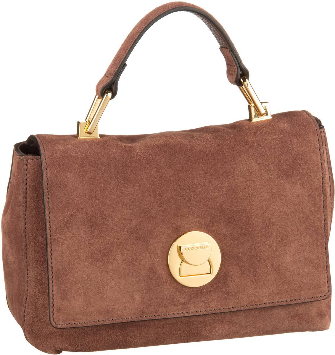 Handtasche Liya Suede 5840 Marron Glacé