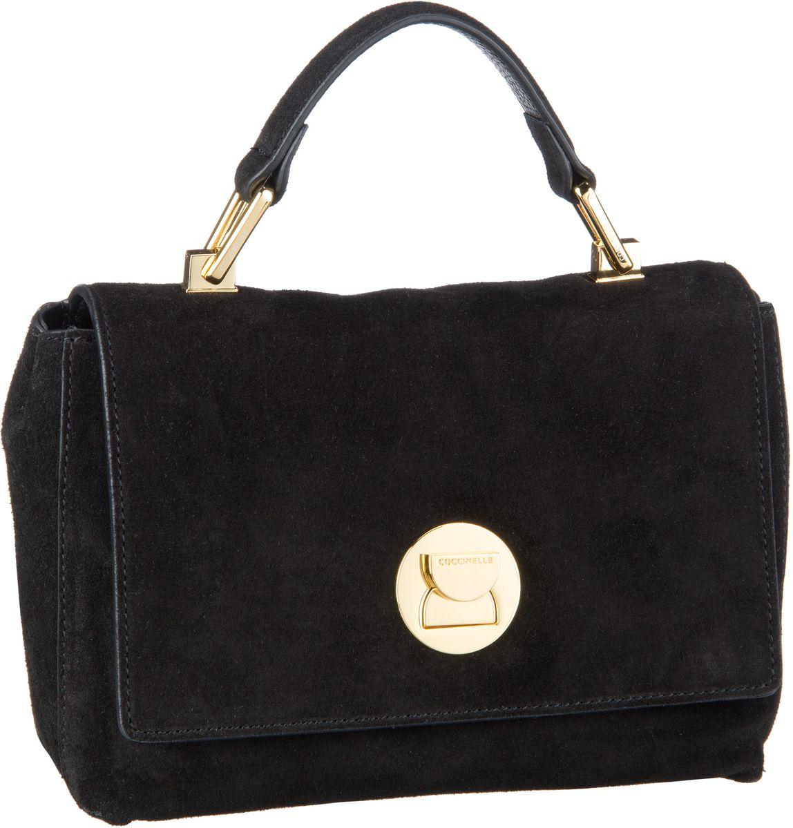 Handtasche Liya Suede 5840 Noir