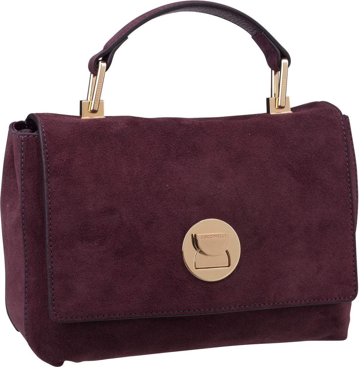 Handtasche Liya Suede 5840 Plum