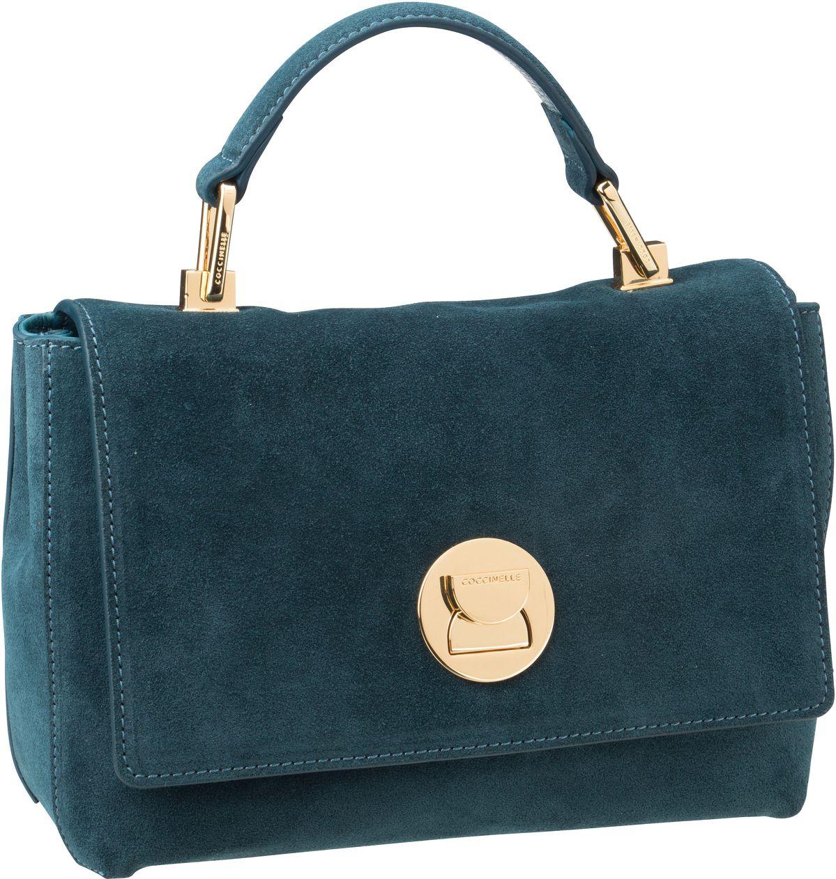 Handtasche Liya Suede 5840 Teal