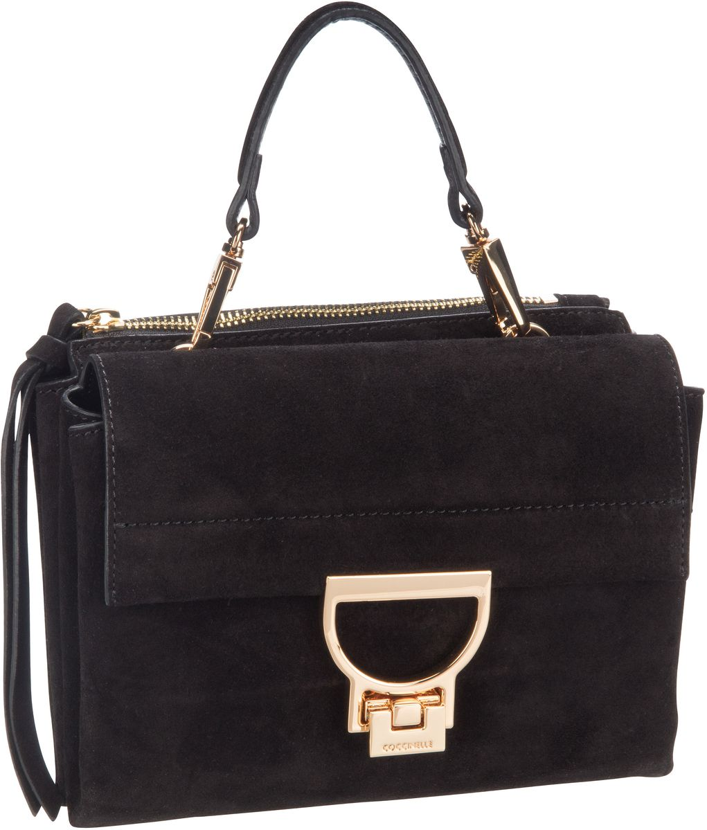 Handtasche Arlettis Suede 55B7 Noir