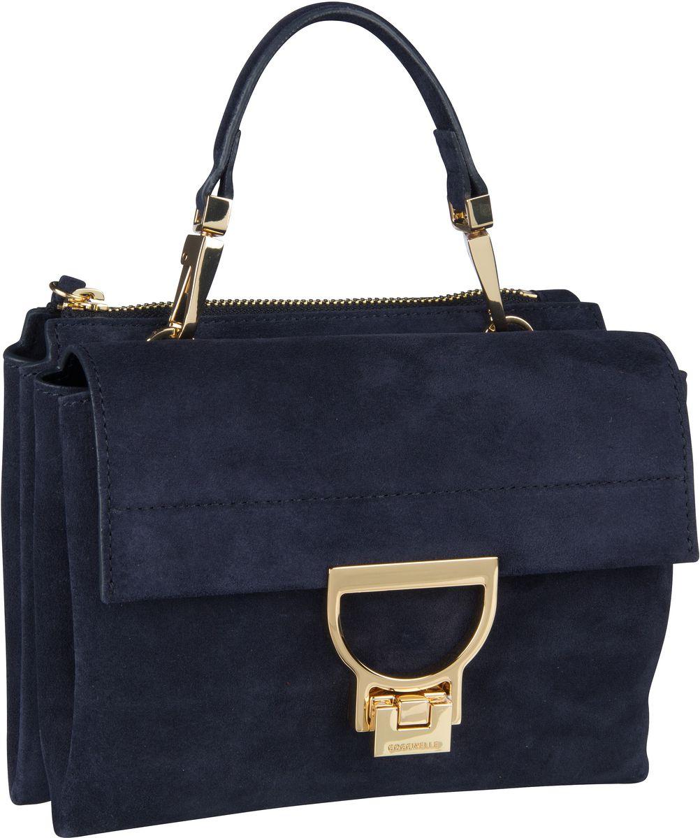 Handtasche Arlettis Suede 55B7 Bleu