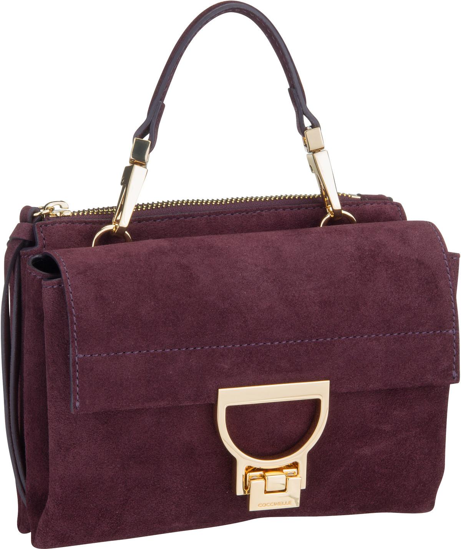 Handtasche Arlettis Suede 55B7 Plum
