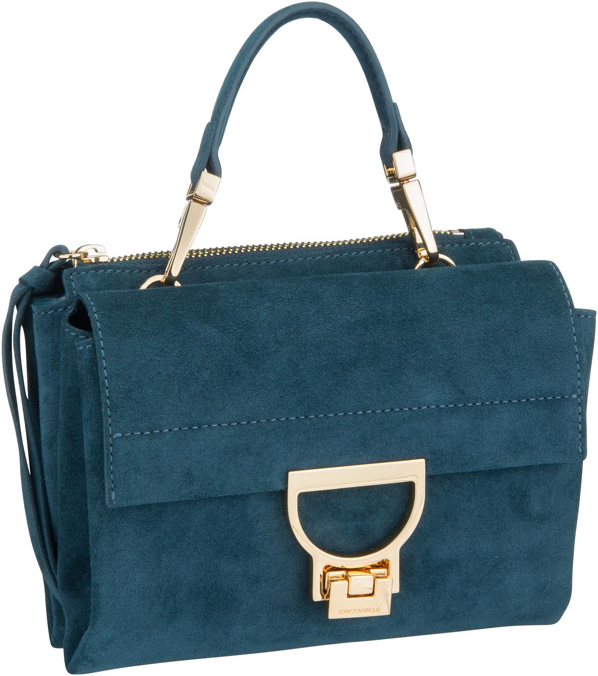Handtasche Arlettis Suede 55B7 Teal