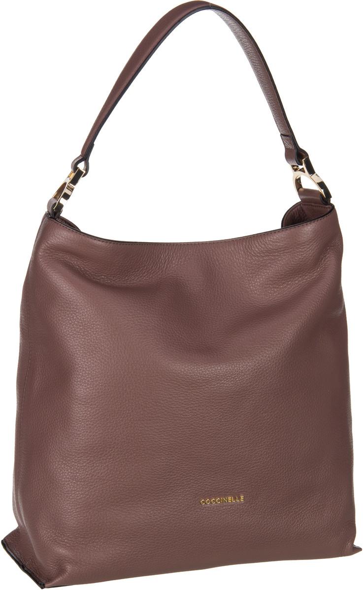 Handtaschen für Frauen - Coccinelle Handtasche Arlettis 1302 Dark Pivione  - Onlineshop Taschenkaufhaus