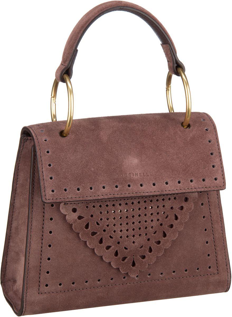 Handtasche B14 Lace Marron Glacé