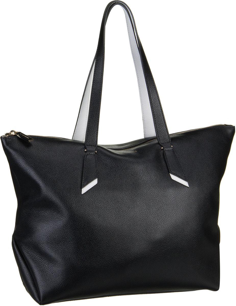 Handtasche Iphigenie 1101 Noir/Blanche