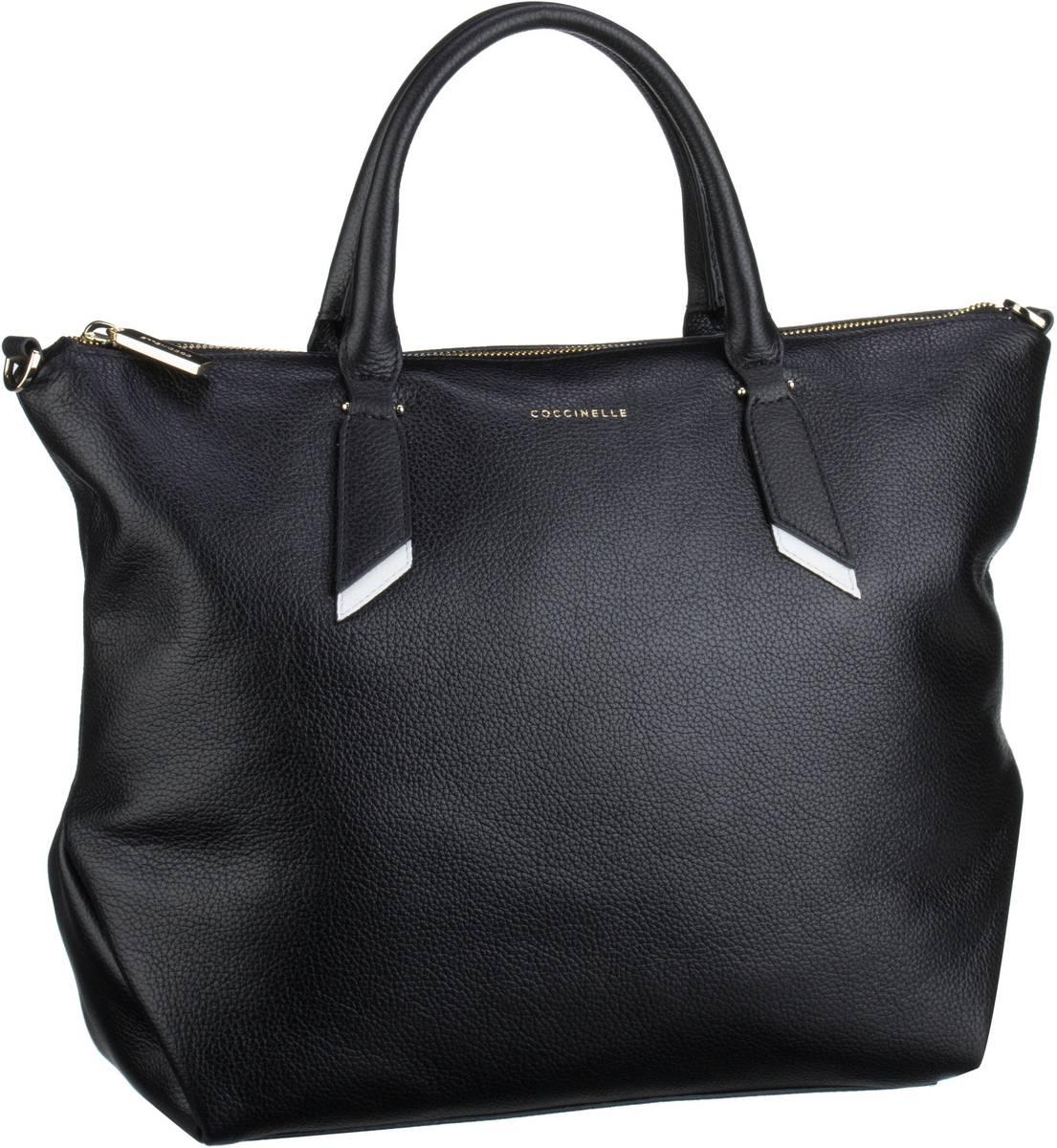 Handtasche Iphigenie 1801 Noir/Blanche