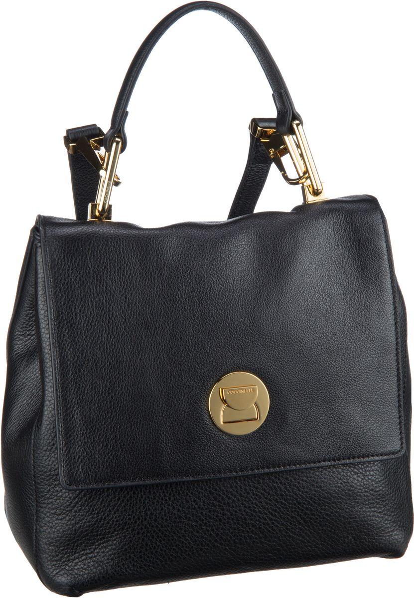 Rucksaecke für Frauen - Coccinelle Rucksack Daypack Liya 5410 Nero  - Onlineshop Taschenkaufhaus