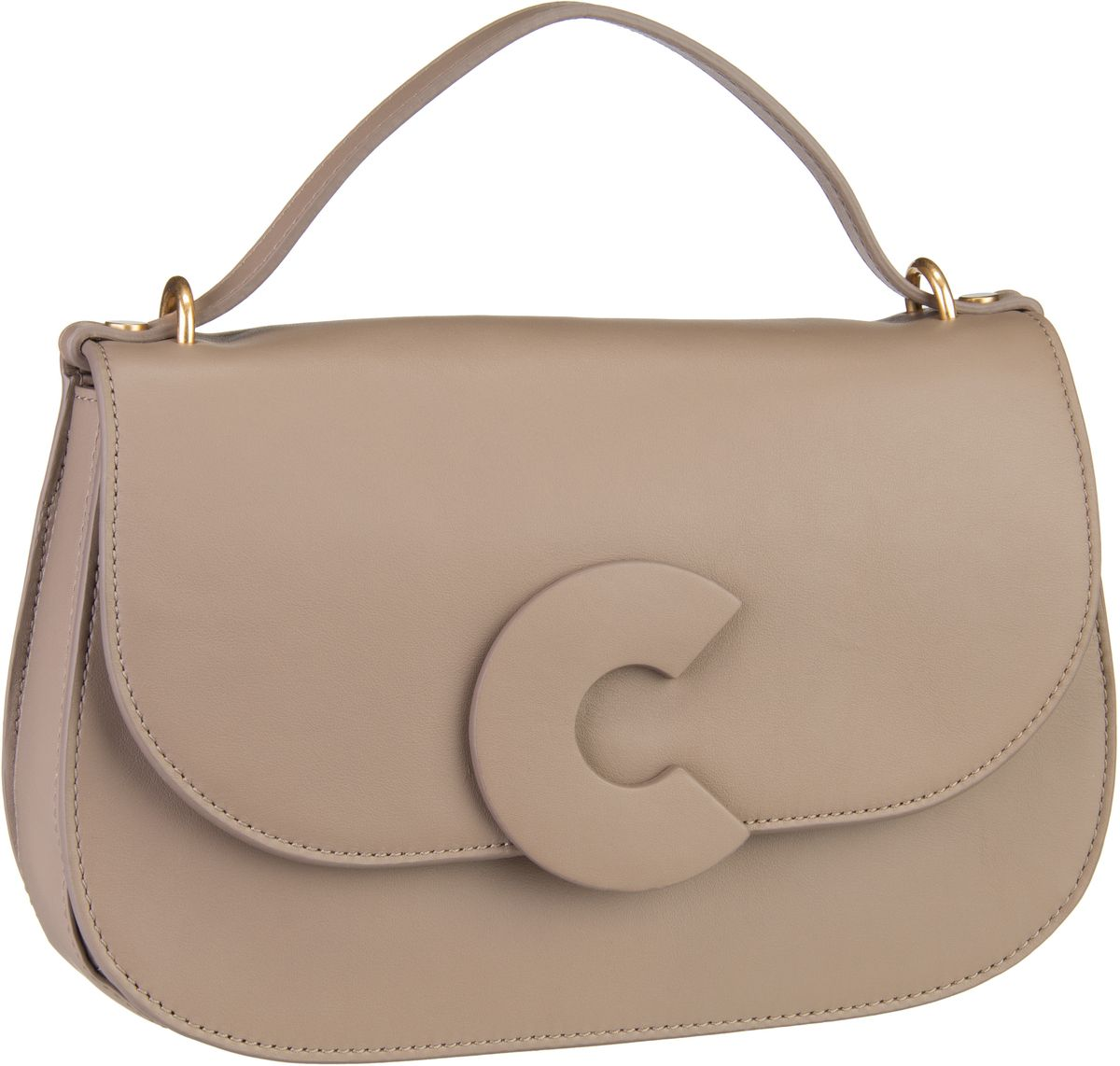 Handtasche Craquante Smooth 1202 Taupe