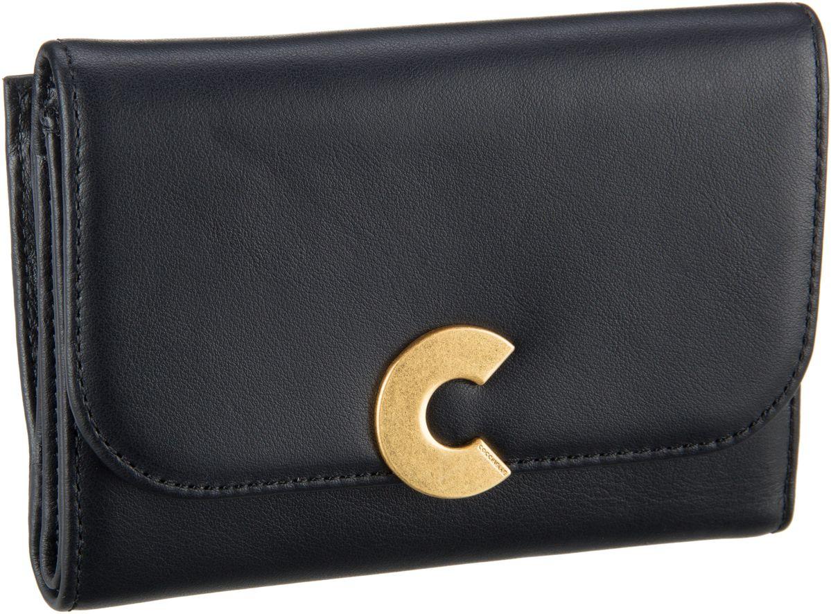 Geldboersen für Frauen - Coccinelle Geldbörse Craquante Smooth 1166 Nero  - Onlineshop Taschenkaufhaus