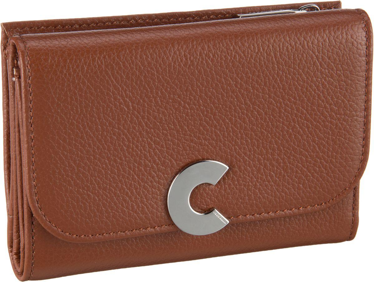 Geldboersen für Frauen - Coccinelle Geldbörse Craquante 1166 Brulé  - Onlineshop Taschenkaufhaus