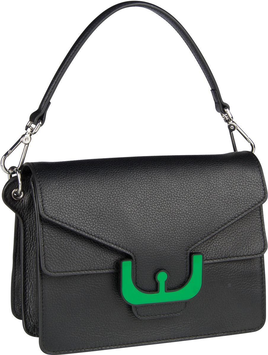 Handtasche Ambrine Graphic Noir 1201 Noir