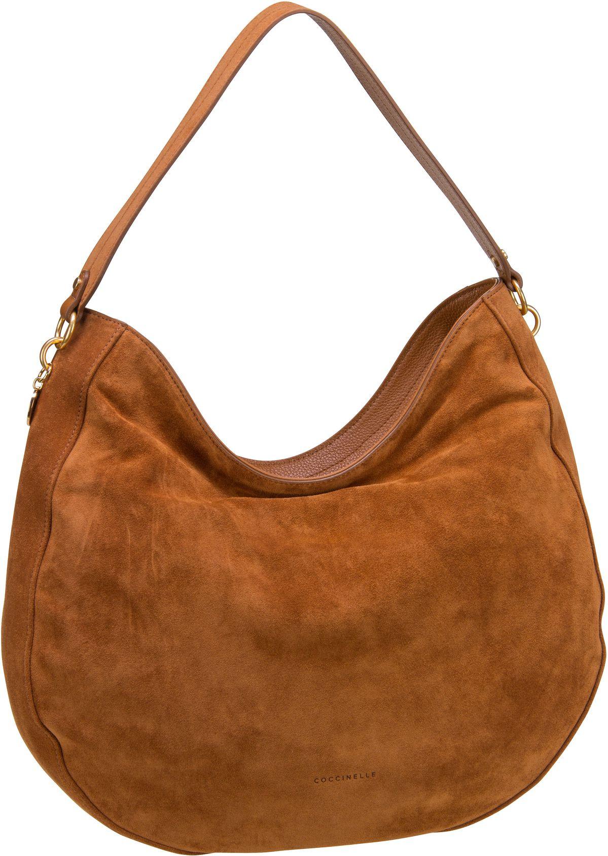Handtasche Alpha Suede 1301 Caramel