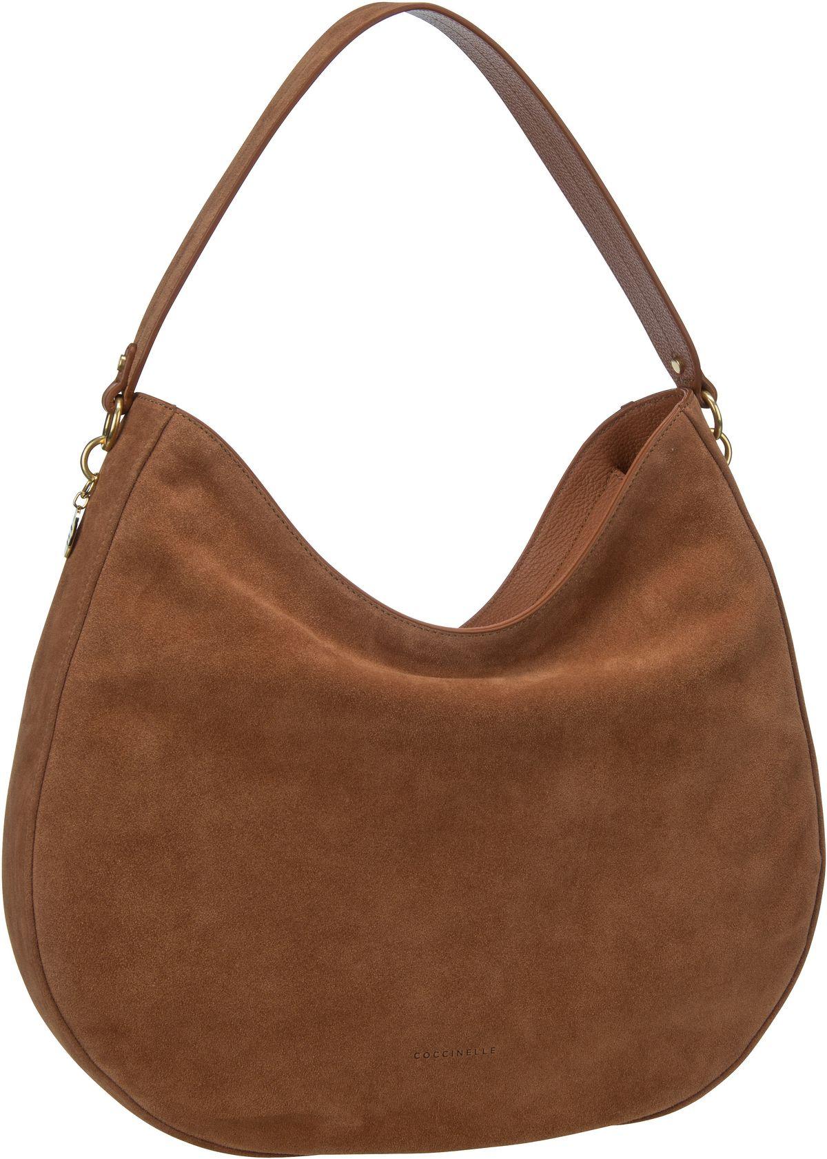 Handtasche Alpha Suede 1301 Tan