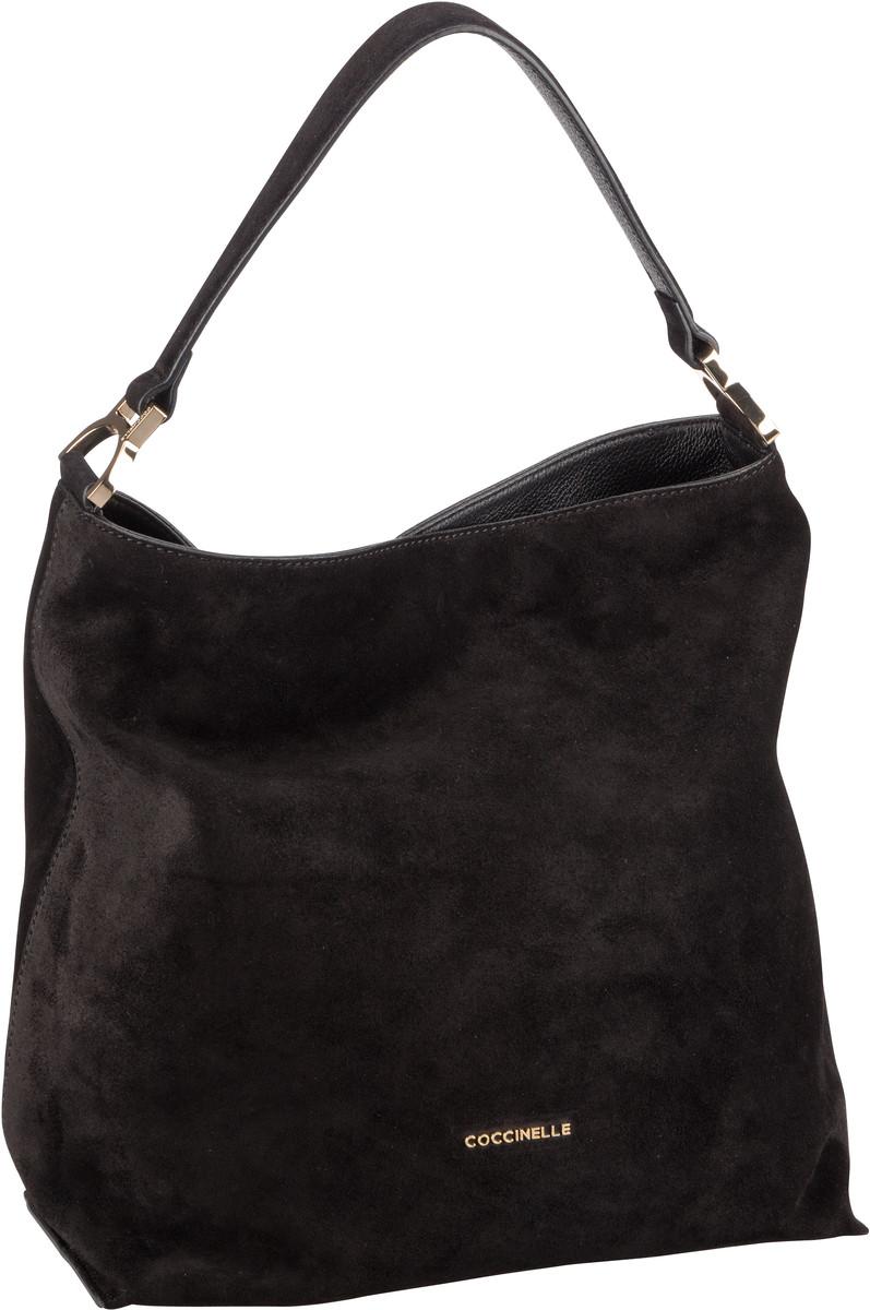 Handtasche Arlettis Suede 1302 Noir