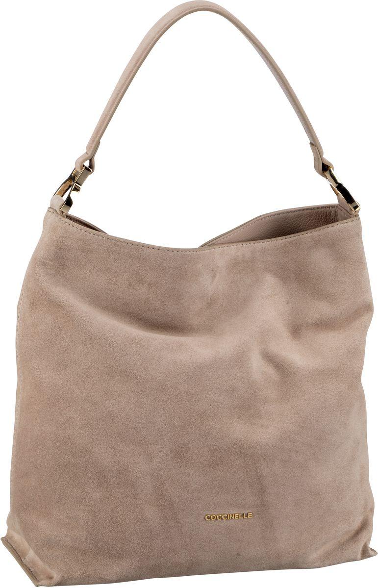Handtasche Arlettis Suede 1302 Taupe