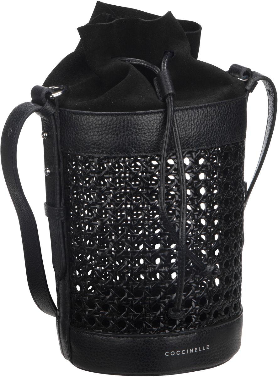 Handtasche Beta Vienna Straw 2302 Nero