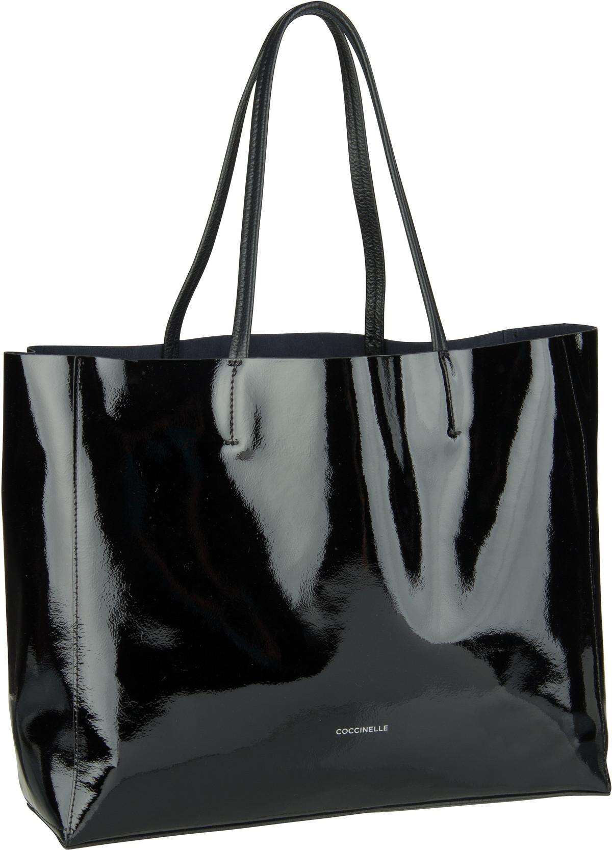 Handtasche Delta Naplack 1101 Nero
