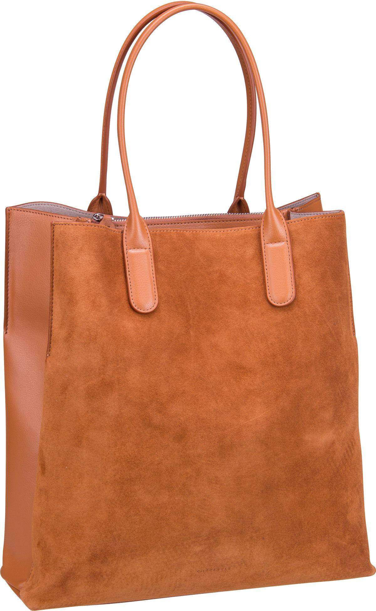 Handtasche Sandy Bimaterial 1101 Caramel