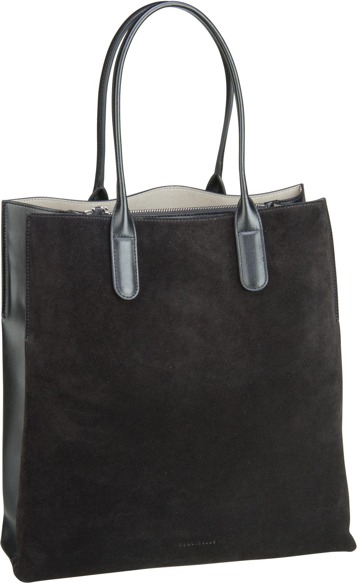 Handtasche Sandy Bimaterial 1101 Nero