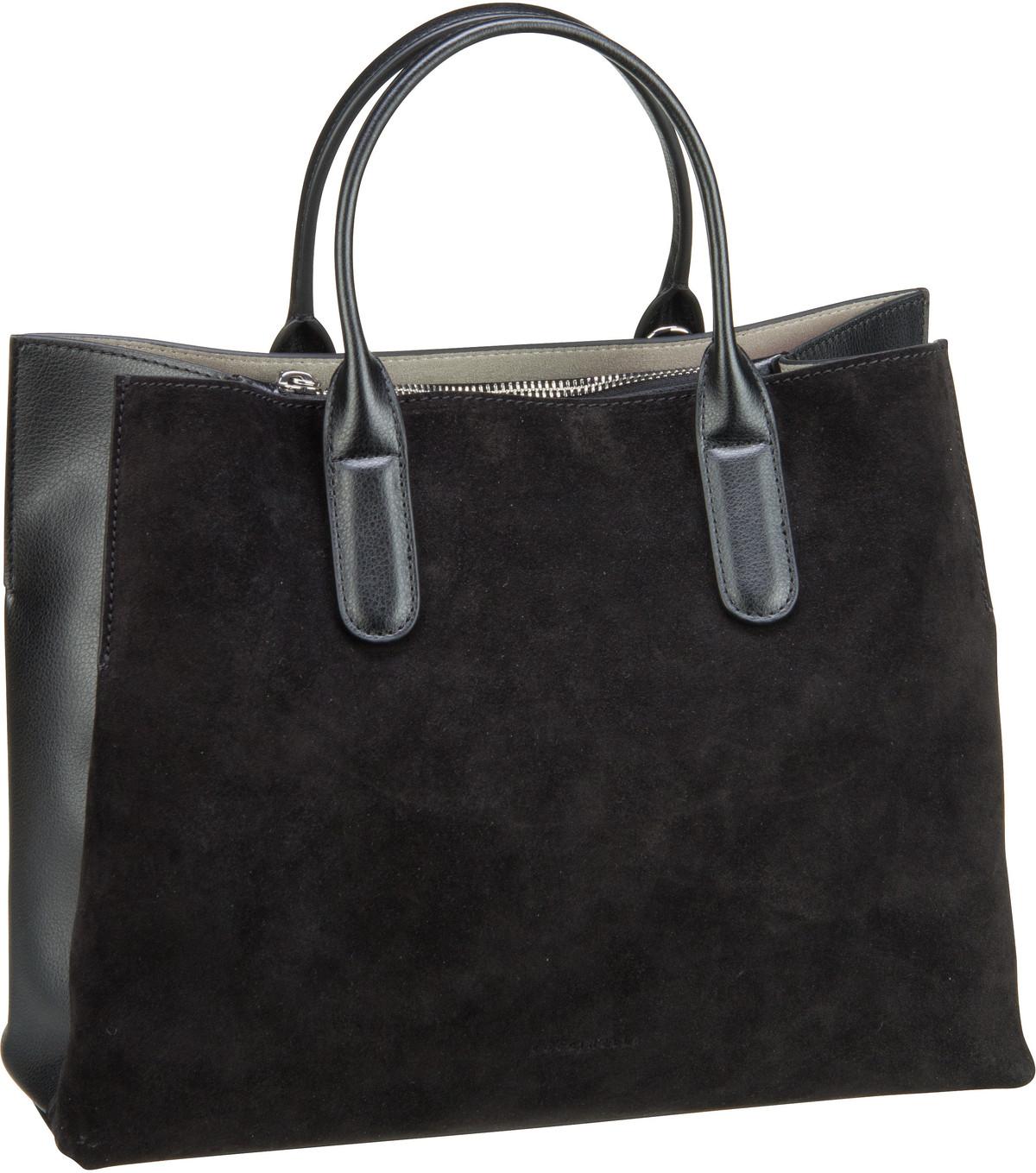 Handtasche Sandy Bimaterial 1801 Nero