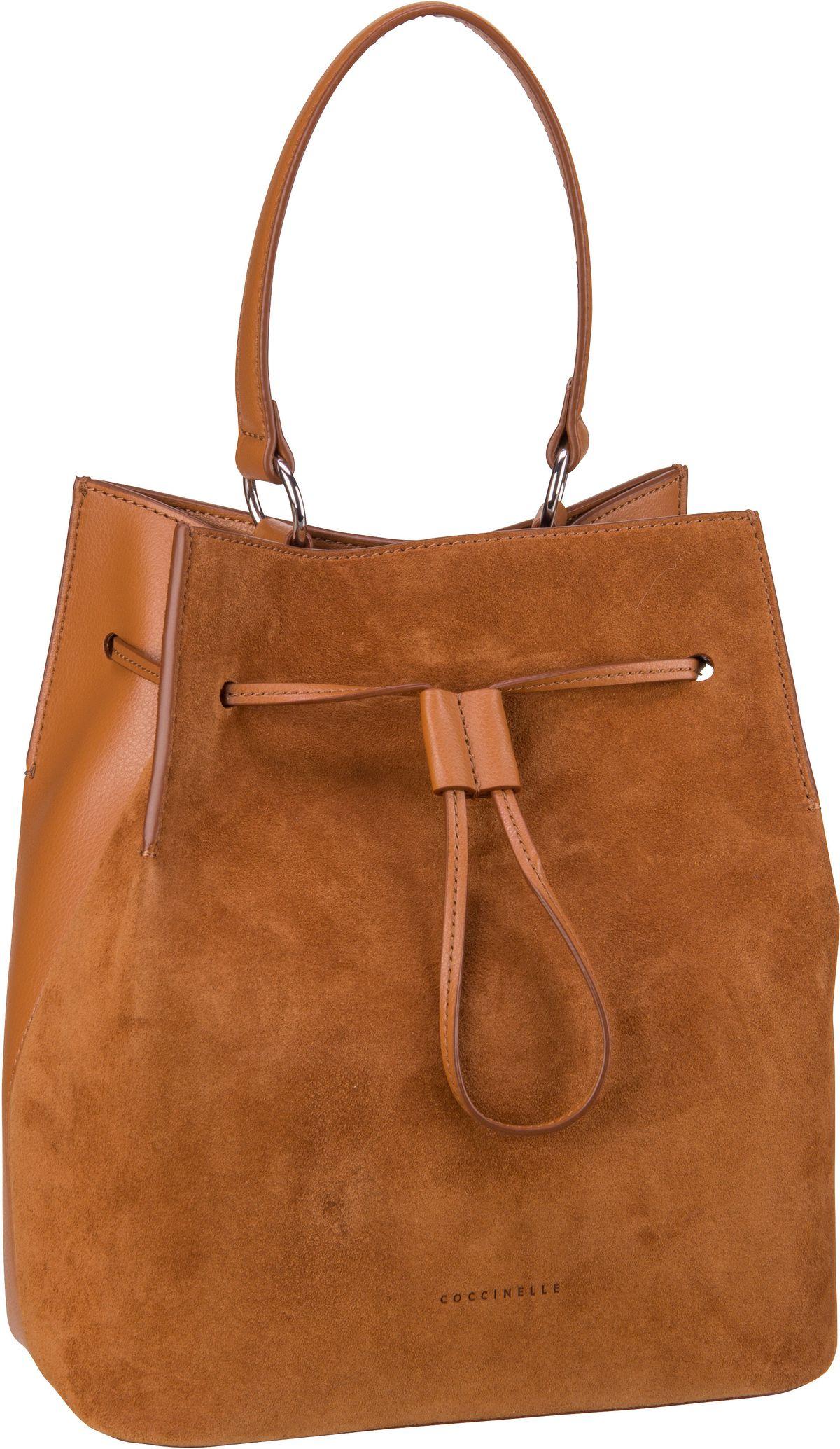 Handtasche Sandy Bimaterial 2301 Caramel