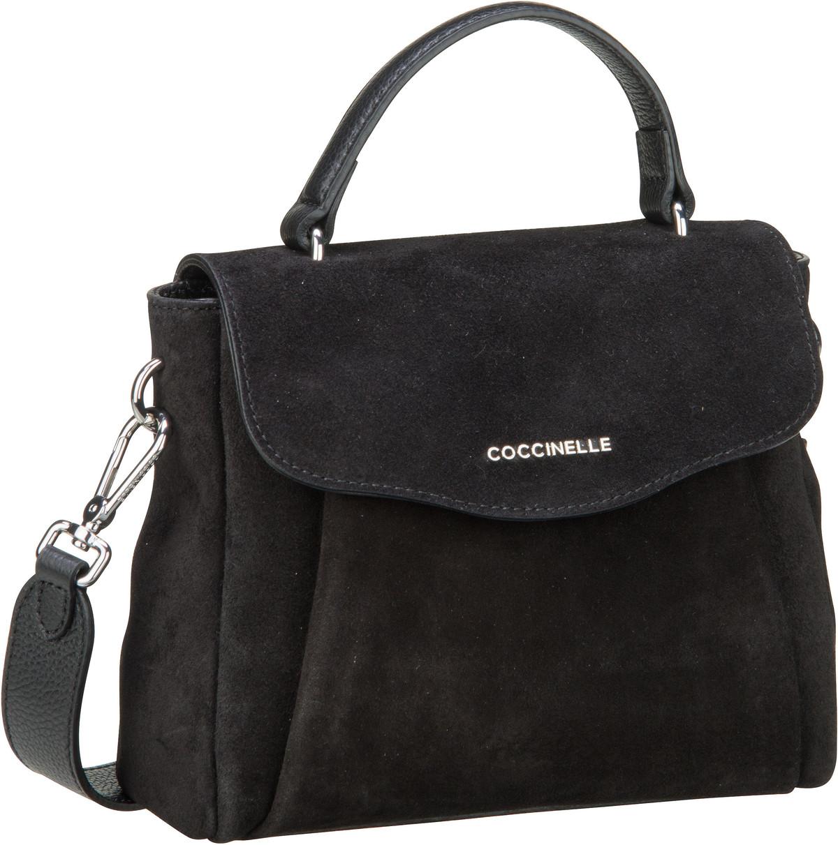 Handtasche Andromeda Suede 5501 Nero