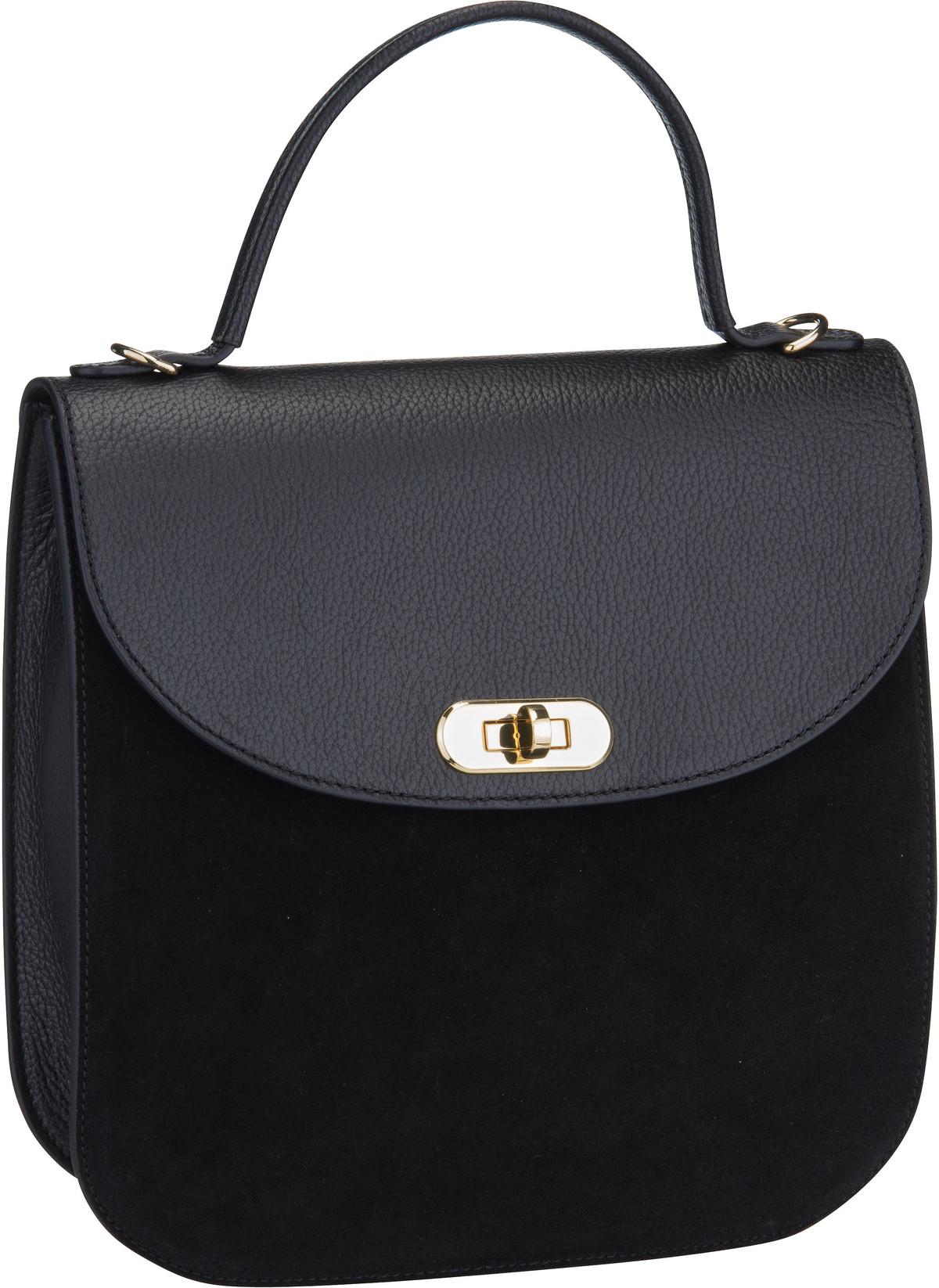 Handtasche Greez Bimaterial 1801 Nero