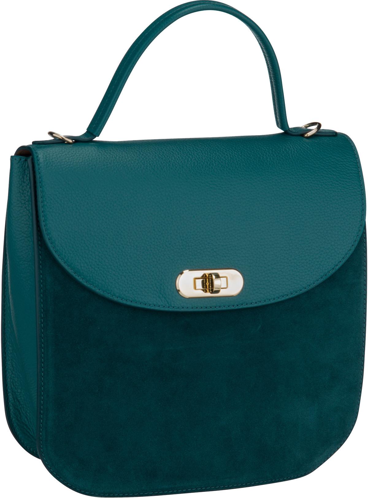 Handtasche Greez Bimaterial 1801 Teal
