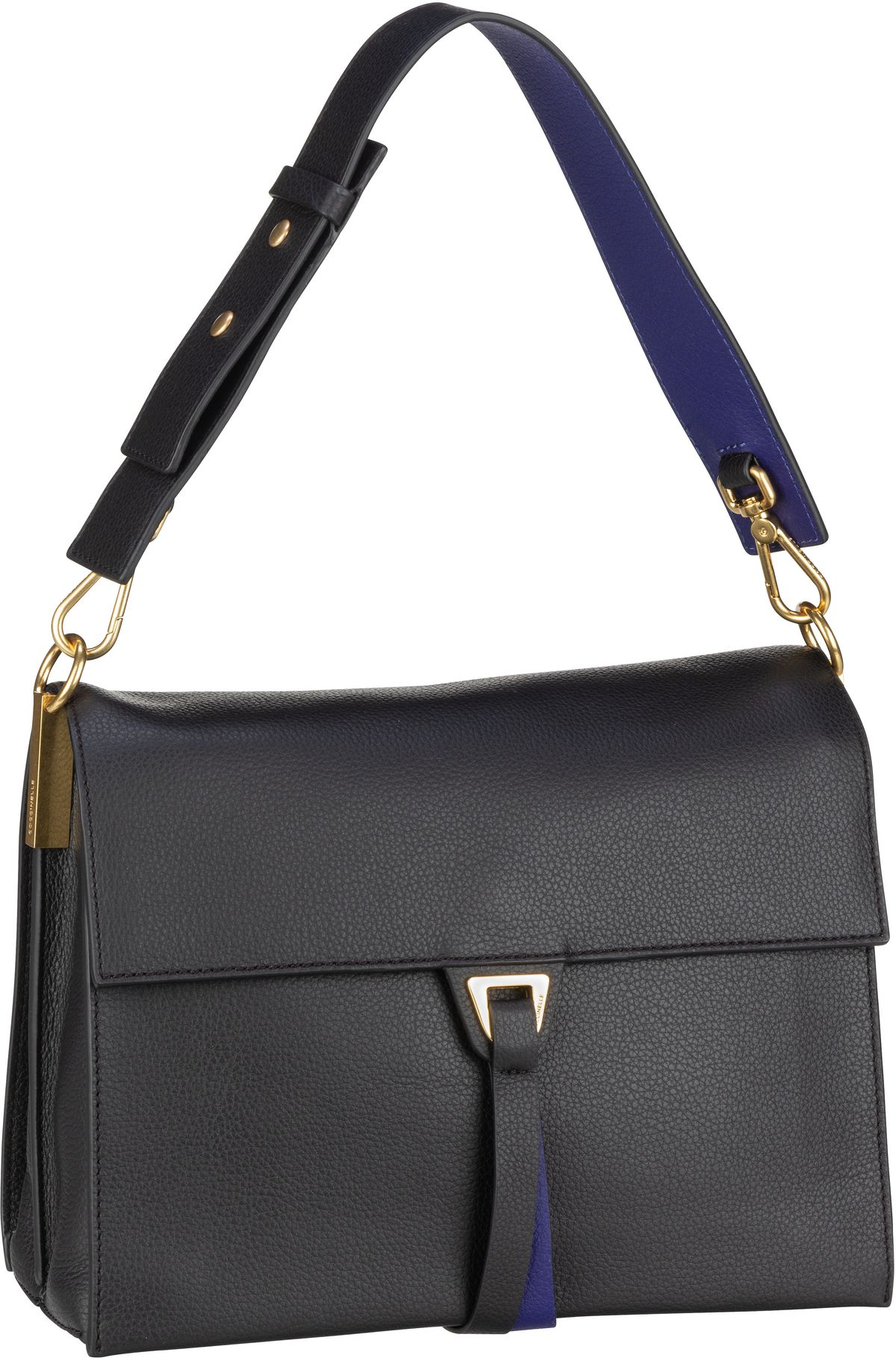 Handtasche Louise 1201 Nero/Curacao