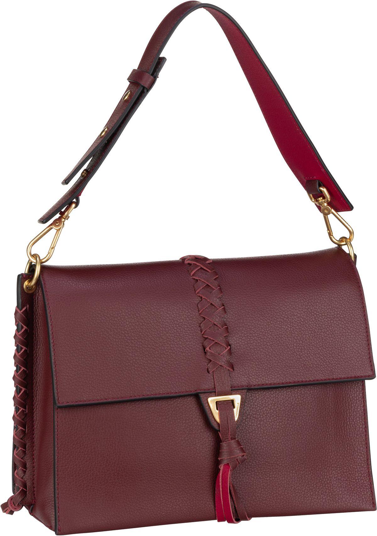 Handtasche Louise Infilatura 1201 Marsala/Cherry