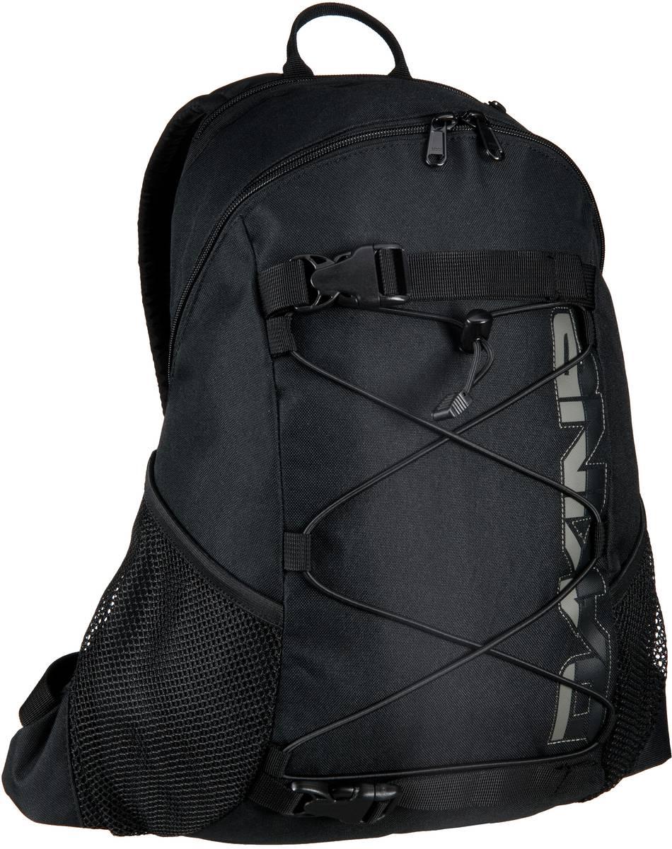 Rucksack / Daypack Wonder Pack Black (innen: Grau) (15 Liter)