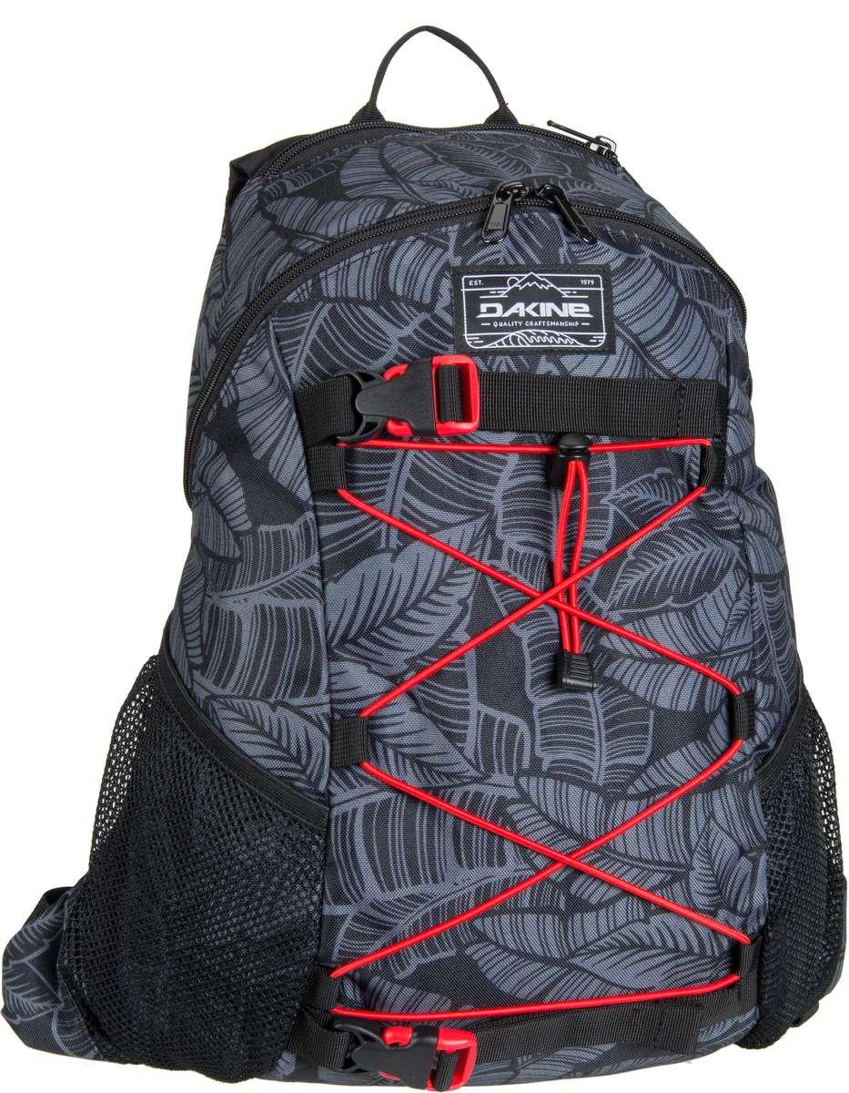 Rucksack / Daypack Wonder Pack Stencil Palm (innen: Rot) (15 Liter)