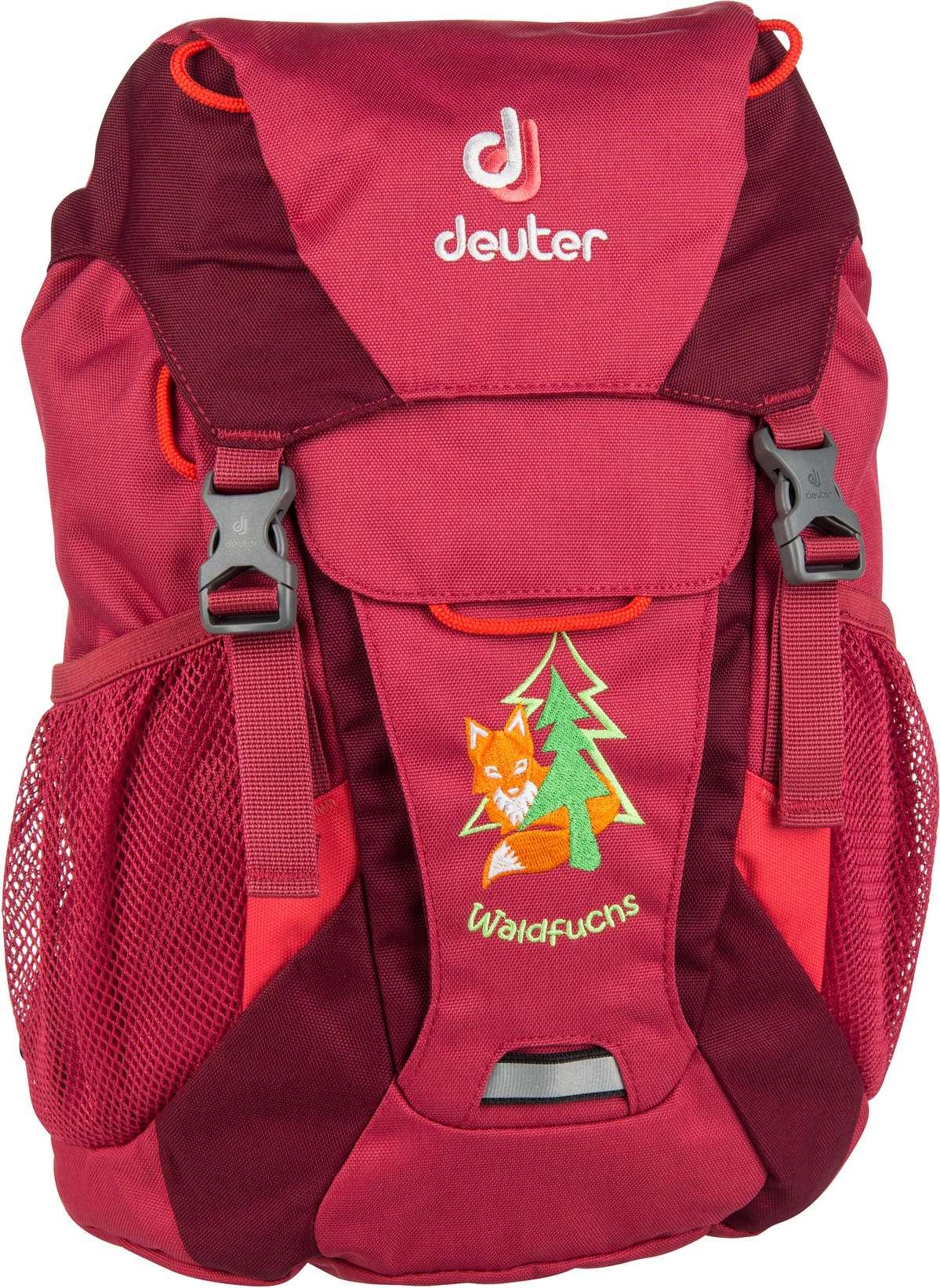 Rucksack / Daypack Waldfuchs Cardinal/Maron (10 Liter)