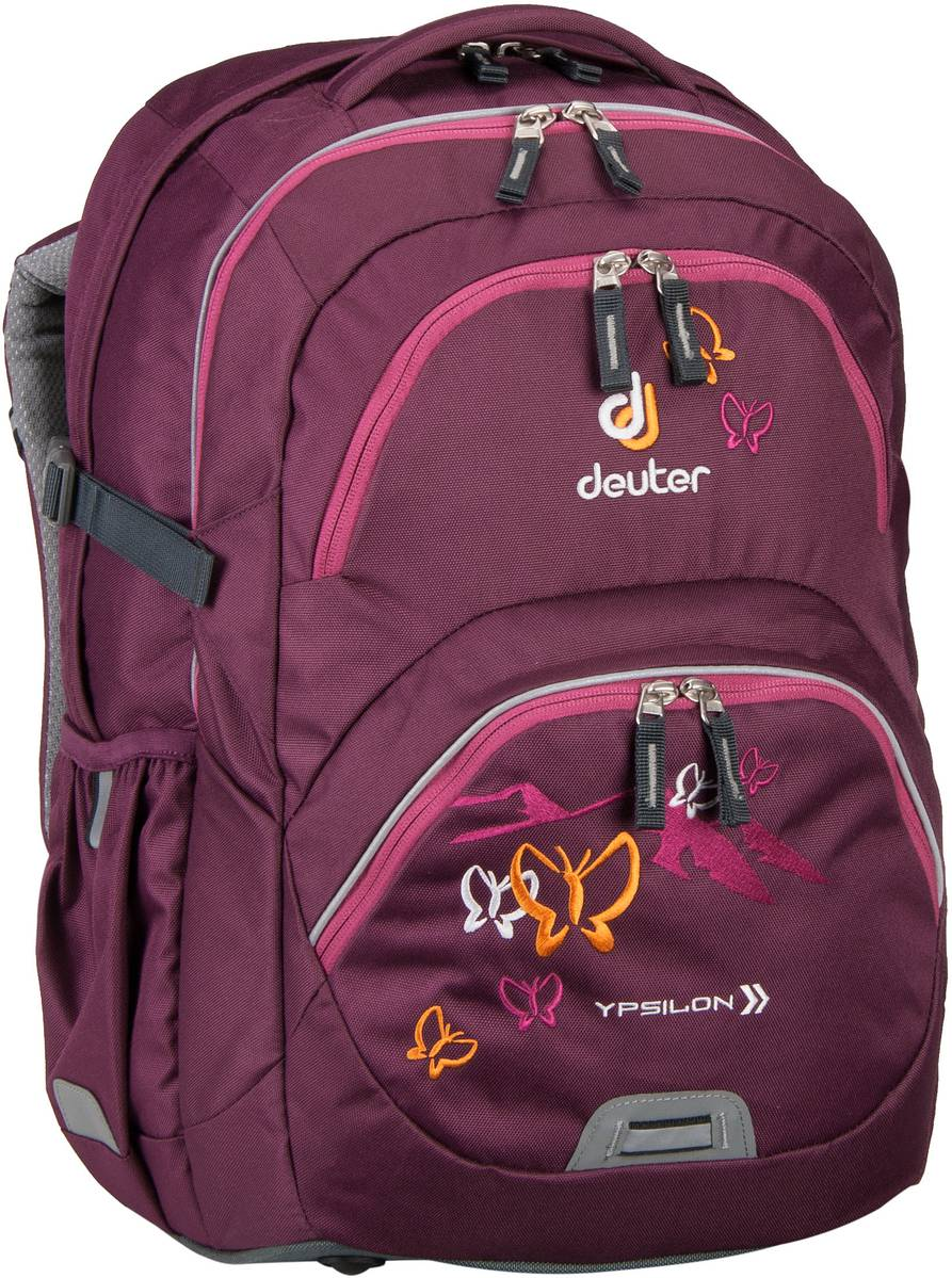 Deuter Schulrucksack Ypsilon Blackberry/Butterfly (innen: Pink) - Rucksack / Daypack, Rucksack / Daypack, Kinderrucksack, Schulrucksack 80223-5009