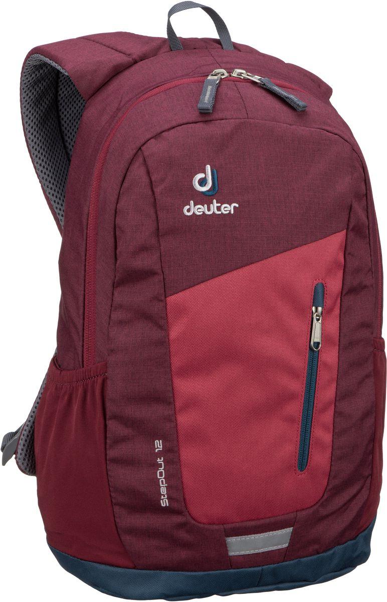 Deuter Step Out 12 Cardinal Maron Rucksack Daypack