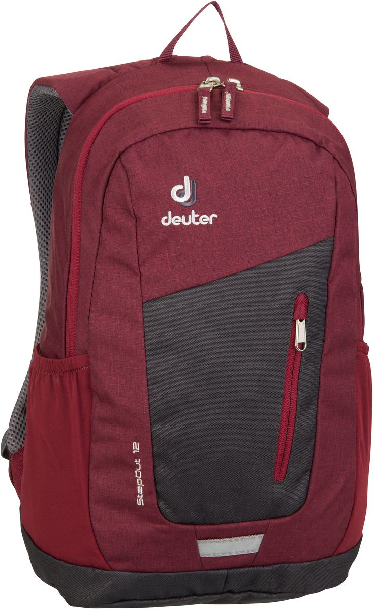 Rucksack / Daypack Step Out 12 Graphite/Maron (12 Liter)